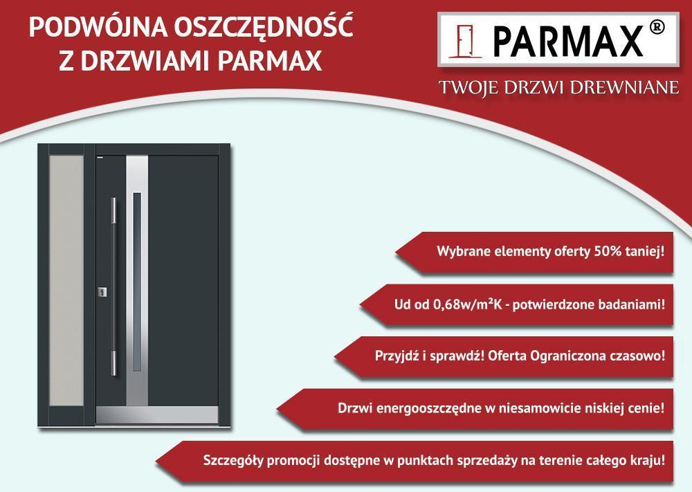 drzwi drewniane parmax