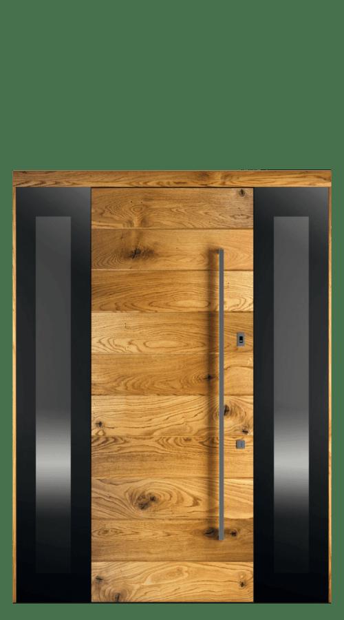 Drzwi 1X z 2 dostawkami