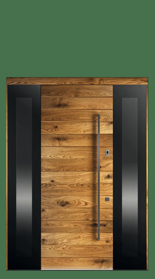 Drzwi 1X, 2dostawki, podwietlenie LED
