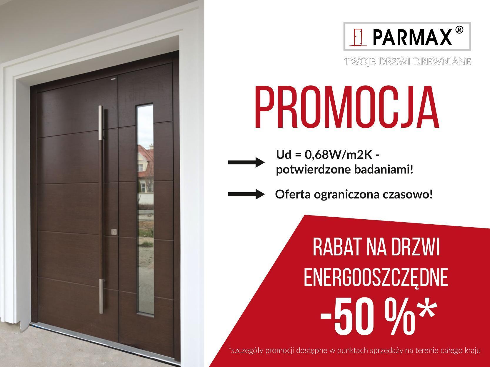 promocja_parmax drzwi z zawiasem chowanym gr100mm
