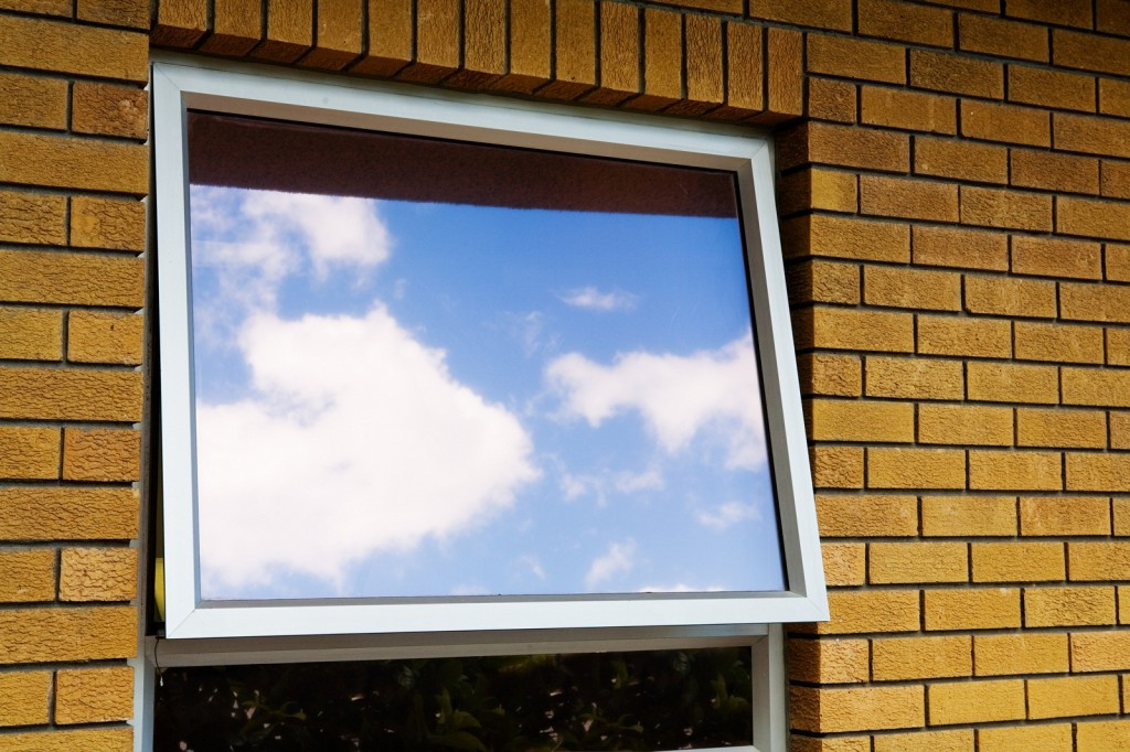 aluminiowe okno